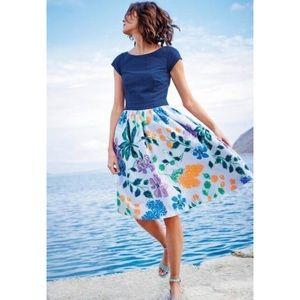 Boden Rosalyn Dress Size 2R